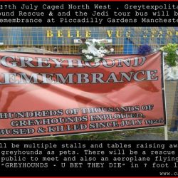 Greyhound Remembrance Day in Manchester