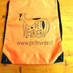 Gadget Pet Levrieri: sacchetta sport con Logo