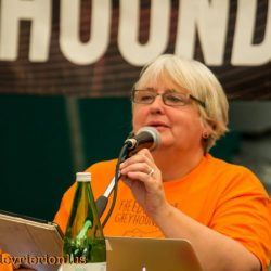 """Speech in Milan by Aileen Ward, representative for Greyt Exploitations and the """"All Party Group for Animal Welfare"""", at our International Conference  """"FREEDOM FOR GREYHOUNDS"""""""