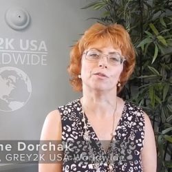 Speech in Milan by Christine Dorchak, President of GREY2K USA Worldwide, at the Conference 'Freedom for Greyhounds'.