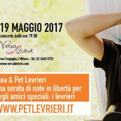 Alea Pop Band & Pet levrieri – Una serata musicale in sostegno dei levrieri – 19 maggio, Milano, dalle 19.30