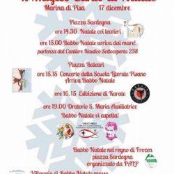 Natale con i levrieri Pet Levrieri, a Marina di Pisa il 17 dicembre