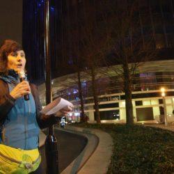 Speech by Stefania Traini, Pet levrieri president, at the GBGB AWARDS PROTEST, London 28 Jan 2018