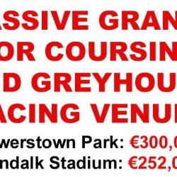 Il Coursing e il Greyhound Racing ottengono ingenti contributi economici per le loro sedi! Smettetela di finanziare la crudele Industria delle Corse!